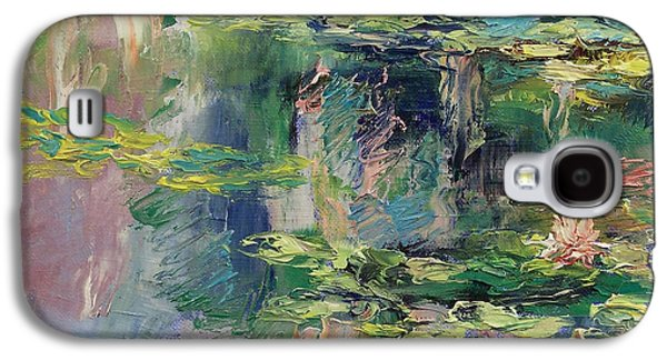 Water Lilies Galaxy S4 Case