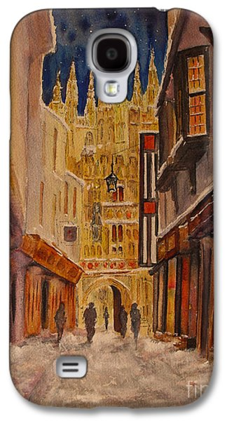 Winter In Canterbury Galaxy S4 Case by Beatrice Cloake