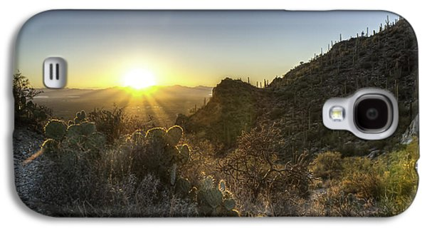 Winter Sunset Galaxy S4 Case