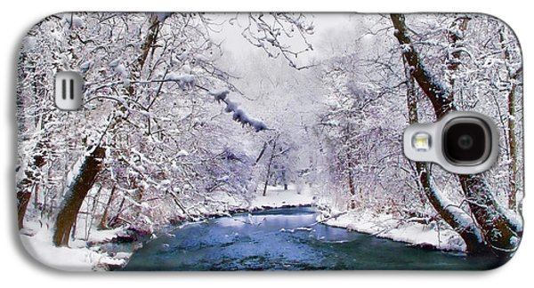 Winter White Galaxy S4 Case
