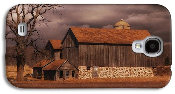 Wisconsin Barn Galaxy S4 Case