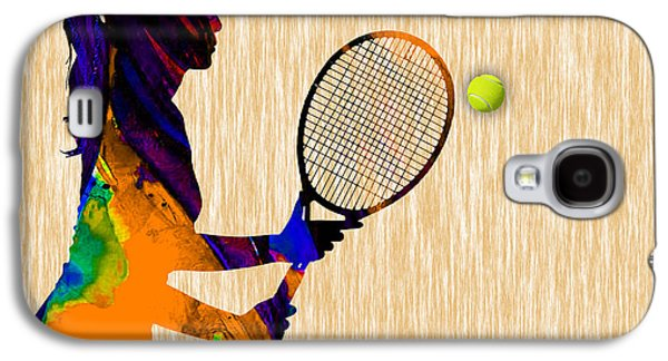 Womens Tennis Galaxy S4 Case by Marvin Blaine