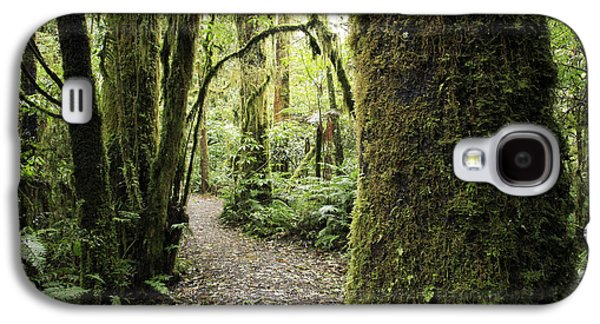 Forest Galaxy S4 Case by Les Cunliffe
