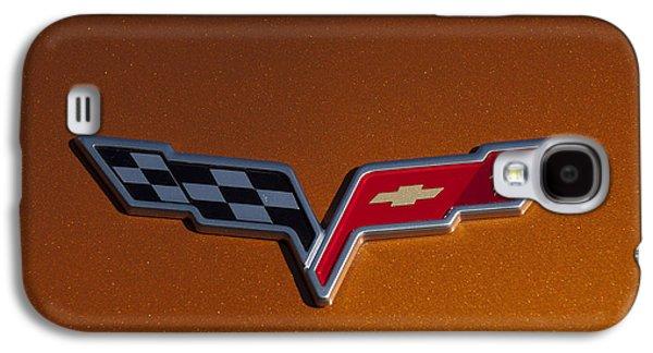 2007 Chevrolet Corvette Indy Pace Car Emblem Galaxy S4 Case by Jill Reger