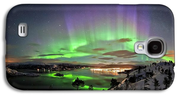 Aurora Borealis Galaxy S4 Case by Tommy Eliassen