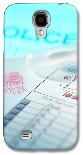 Forensic Evidence Galaxy S4 Case by Tek Image