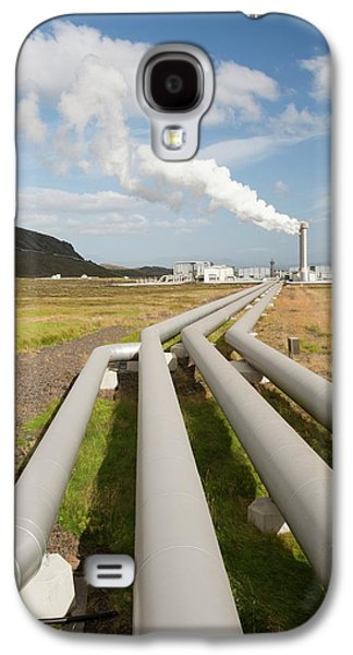 Geothermal Power Station Galaxy S4 Case by Ashley Cooper