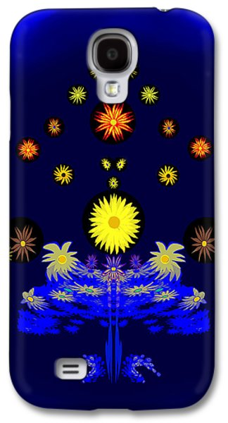 225 -   Special  Summerflowers  Artificial Galaxy S4 Case by Irmgard Schoendorf Welch