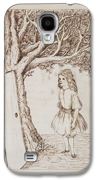 Alice's Adventures In Wonderland Galaxy S4 Case