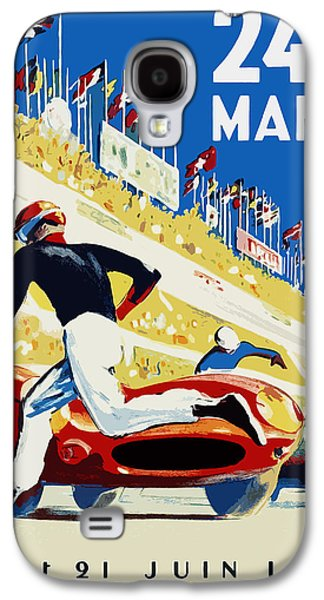 24 Hour Le Mans 1959 Galaxy S4 Case by Mark Rogan