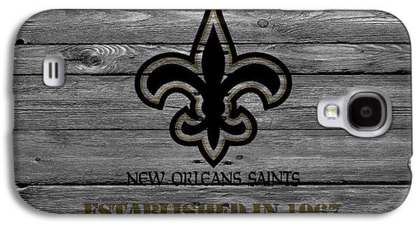 New Orleans Saints Galaxy S4 Case by Joe Hamilton