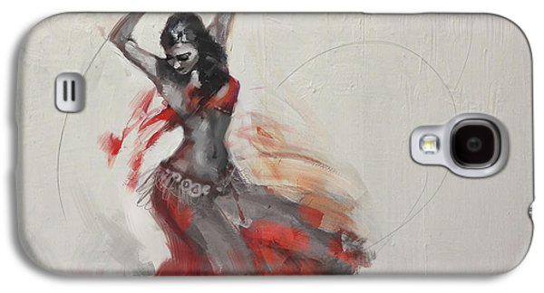 Belly Dancer 3 Galaxy S4 Case by Corporate Art Task Force