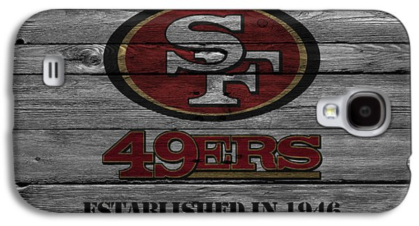 San Francisco 49ers Galaxy S4 Case by Joe Hamilton