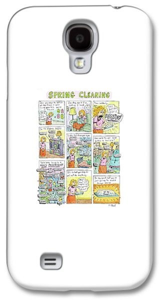Captionless. spring Cleaning Galaxy S4 Case