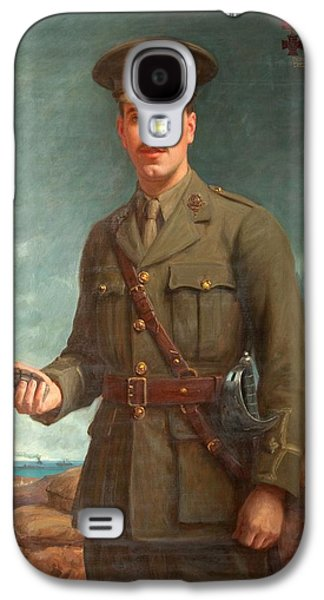 2nd Lieutenant Alfred Victor Smith, Vc Galaxy S4 Case by Isaac Cooke