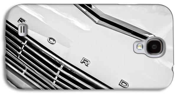1963 Ford Falcon Futura Convertible Hood Emblem Galaxy S4 Case