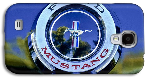 1965 Shelby Prototype Ford Mustang Emblem Galaxy S4 Case by Jill Reger