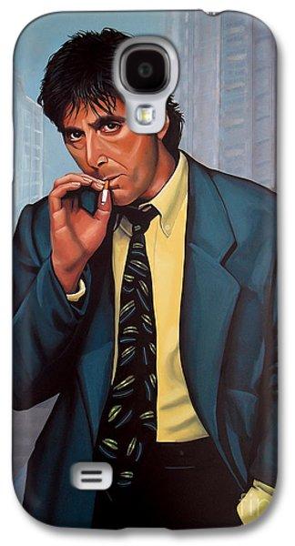 Beach Galaxy S4 Case - Al Pacino 2 by Paul Meijering