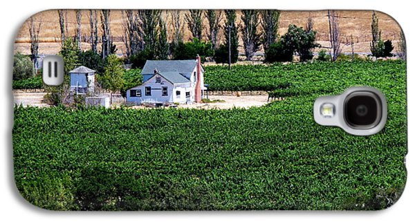 Artesa Vineyards And Winery Galaxy S4 Case by Jeff Lowe