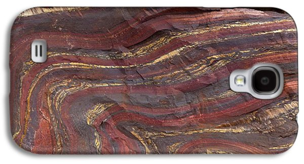 Banded Iron Formation Galaxy S4 Case by Dirk Wiersma