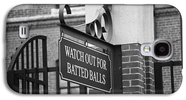 Baseball Warning Galaxy S4 Case