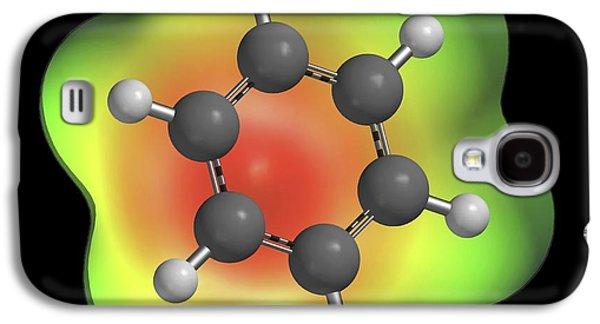 Benzene Aromatic Hydrocarbon Molecule Galaxy S4 Case