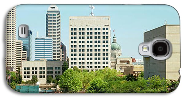 Canal In A City, Indianapolis Canal Galaxy S4 Case by Panoramic Images