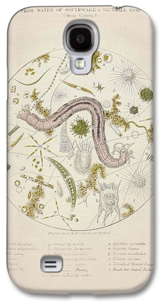 Cholera Epidemic Research Galaxy S4 Case by British Library