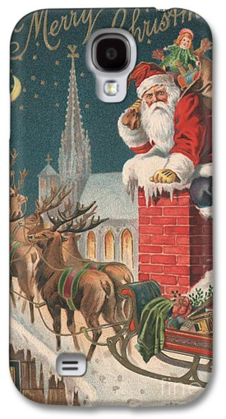 Christmas Card Galaxy S4 Case by English School