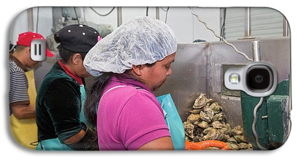 Commercial Oyster Processing Galaxy S4 Case