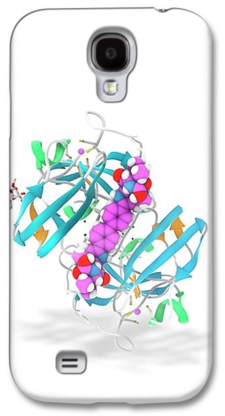 Daclatasvir And Ns5a Protein Complex Galaxy S4 Case
