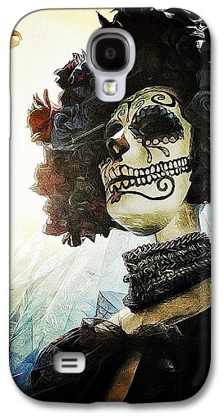 Dia De Los Muertos Galaxy S4 Case by Natasha Marco