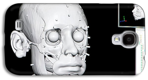 Digital Forensic Facial Reconstruction Galaxy S4 Case by Louise Murray