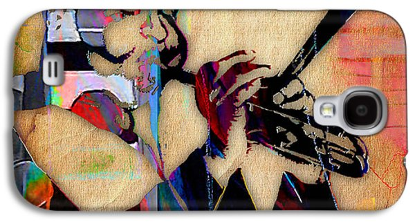 Dizzy Gillespie Collection Galaxy S4 Case by Marvin Blaine