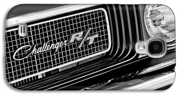 Dodge Challenger Rt Grille Emblem Galaxy S4 Case by Jill Reger