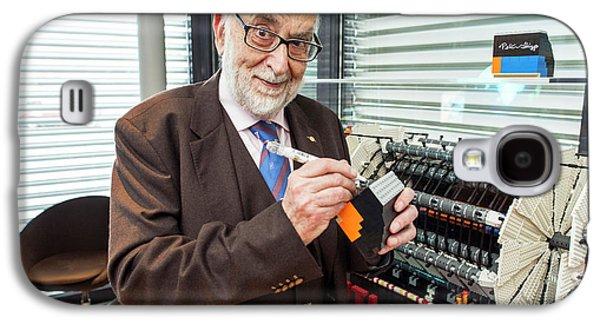 Francois Englert Galaxy S4 Case