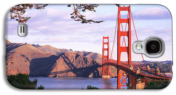 Golden Gate Bridge, San Francisco Galaxy S4 Case by Panoramic Images