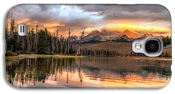 Golden Sunrise Galaxy S4 Case by Robert Bales