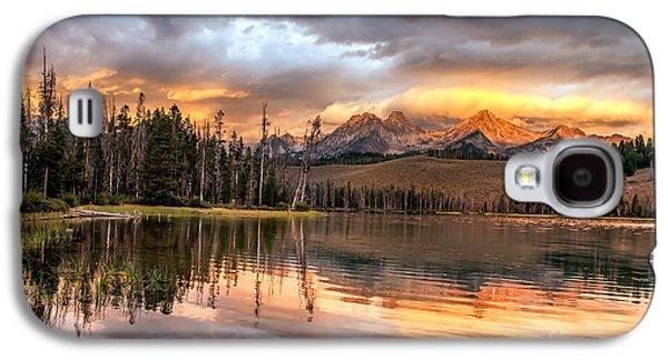 Golden Sunrise Galaxy S4 Case by Robert Bales
