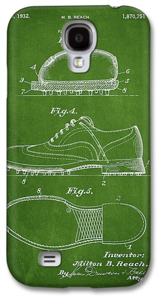 Golf Shoe Patent Drawing From 1931 Galaxy S4 Case by Aged Pixel