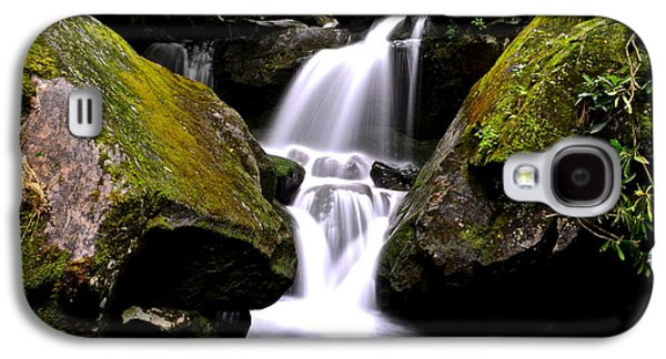 Grotto Falls Galaxy S4 Case by Frozen in Time Fine Art Photography