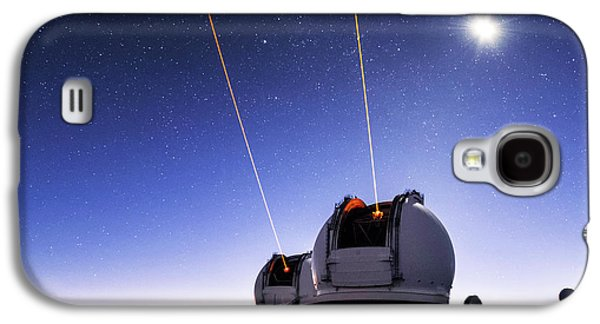 Guide Lasers Over Mauna Kea Observatories Galaxy S4 Case