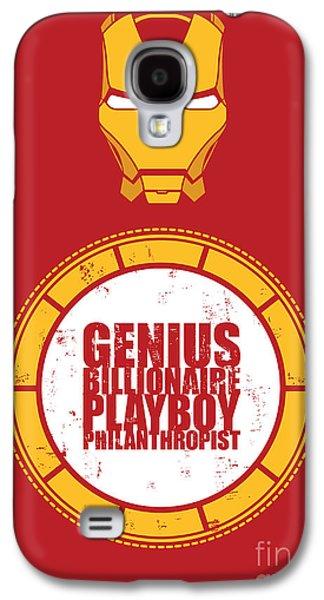 Iron Man Galaxy S4 Case by Caio Caldas