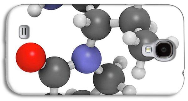 Levetiracetam Epilepsy Drug Molecule Galaxy S4 Case by Molekuul