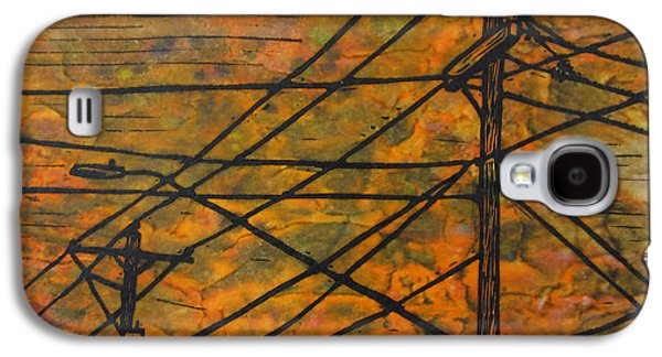 Lines Galaxy S4 Case by William Cauthern