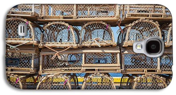 Lobster Traps Galaxy S4 Case by Elena Elisseeva