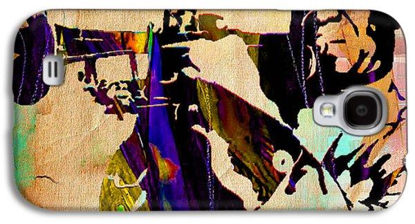 Louis Armstrong Collection Galaxy S4 Case