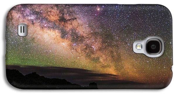 Milky Way Over La Palma Galaxy S4 Case by Babak Tafreshi