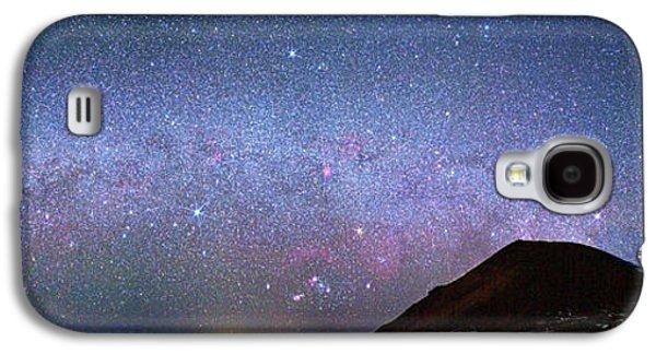 Milky Way Over Telescopes On Hawaii Galaxy S4 Case by Walter Pacholka, Astropics