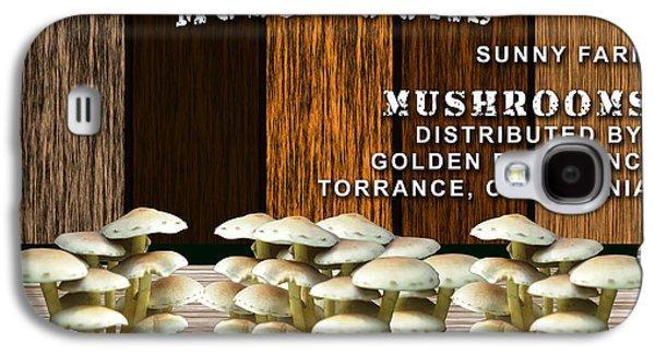 Mushroom Farm Galaxy S4 Case